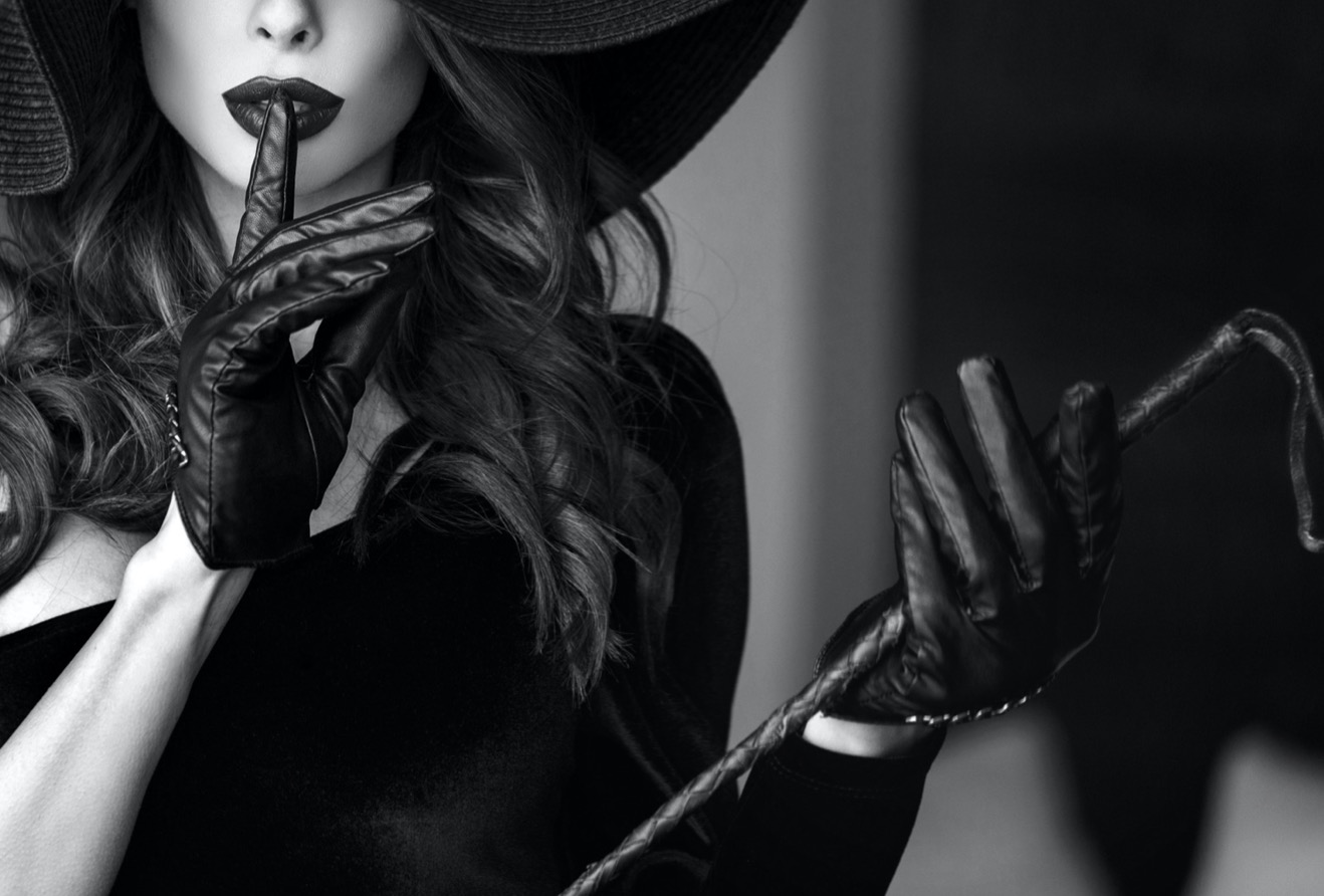 Mistress with whip